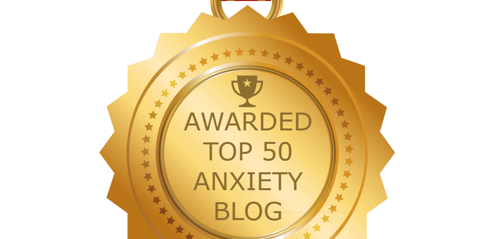 Top 50 Anxiety Blog Award