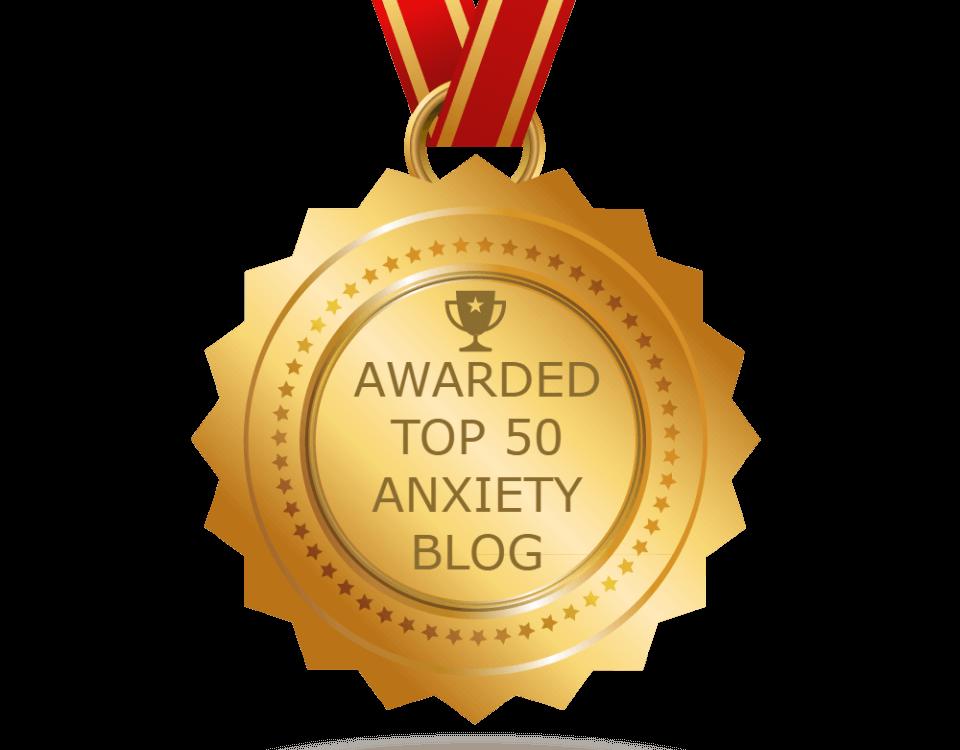 Top 50 Anxiety Blog Award